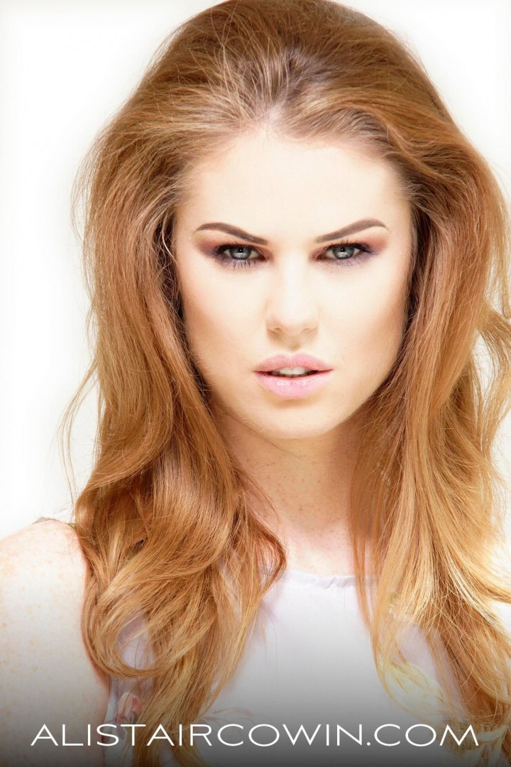 Photographed for Alistair Cowin's Beauty Books <br /> Model: Elle Harris  Makeup: Hannah Field
