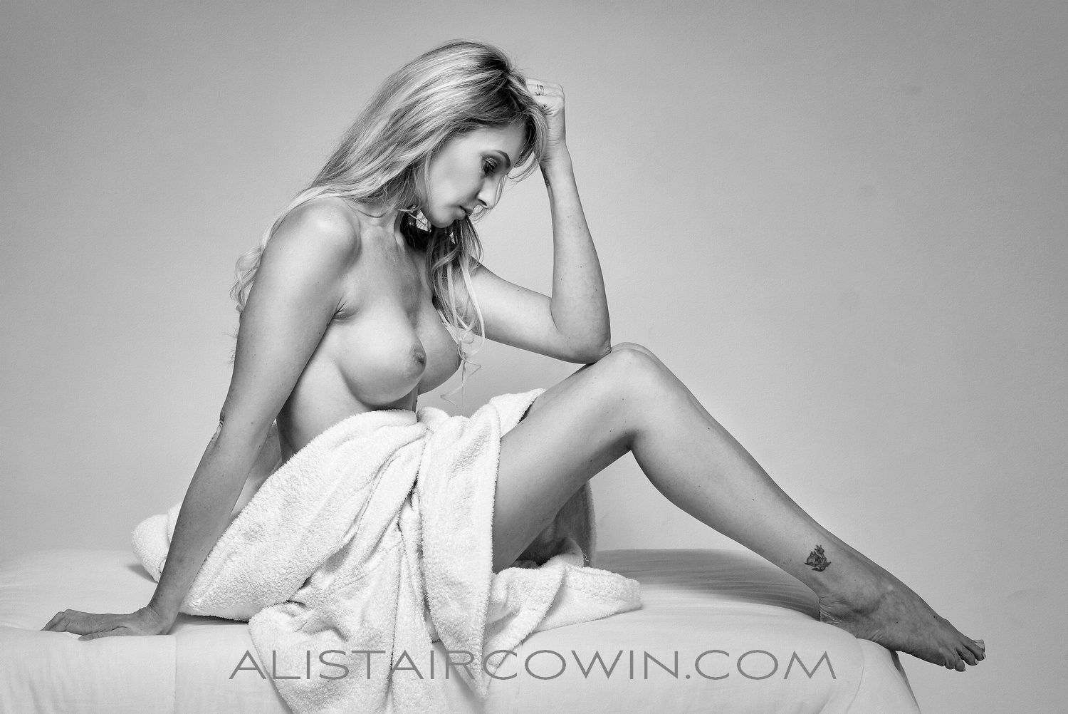 Photographed for Alistair Cowin's Beauty Book and the model's Portfolio<br /> Model: Angel Price
