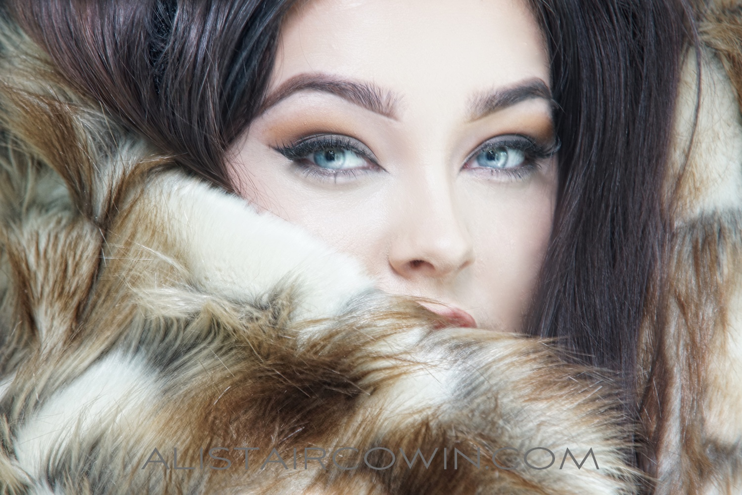 """Beauty shoot for model's Portfolio and Alistair Cowin's """"Beauty Book -2015""""<br /> Model: Liz Meredith"""