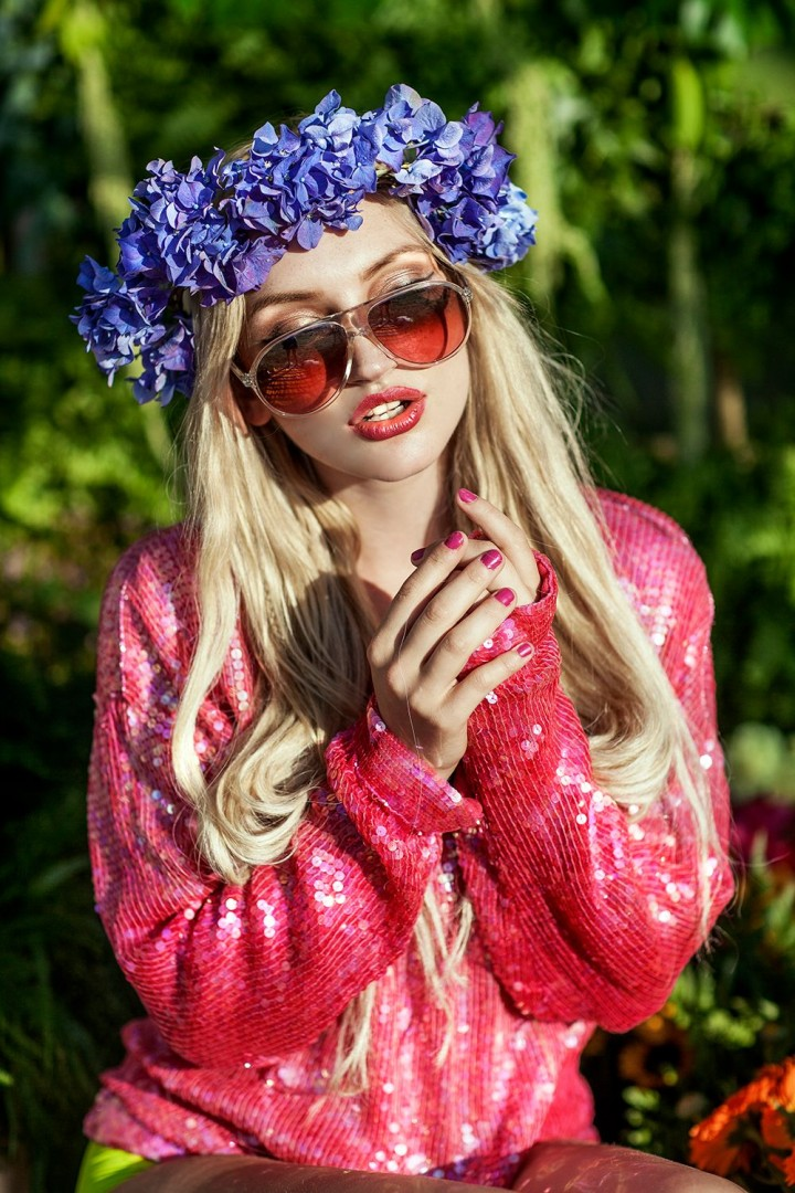 From Blissfields Festival where I had an amazing time shooting Olivia Harriet Smith with clothes from Juliette's Thread, natural flower headdress from Zen Flower Den