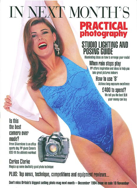Practical Photography back cover - Dec' 1994