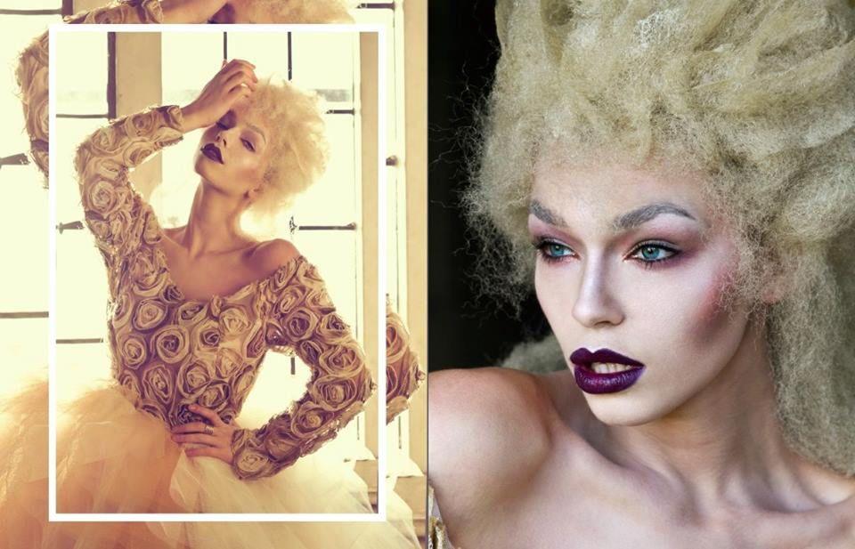 Model: Natalie Philips <br /> Make up: Gwen <br /> Designer: Lissa MJY <br /> Hair: Emmanuel Esteban<br /> Photo: Salleh Sparrow