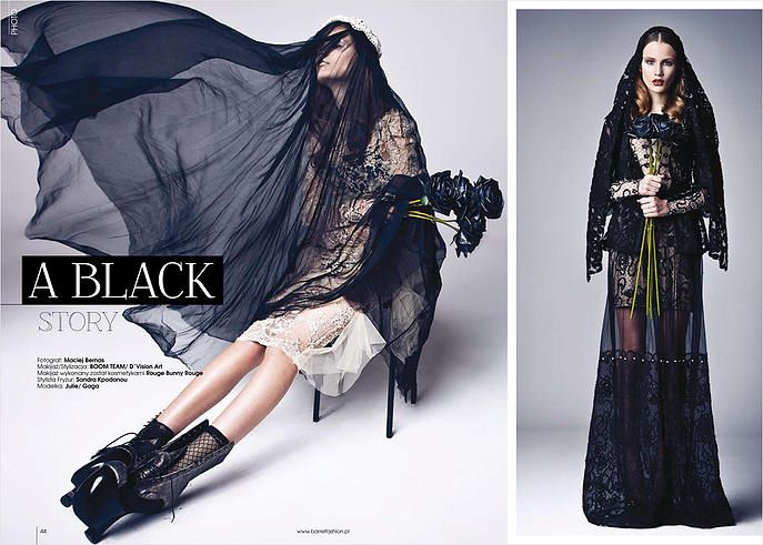 photo: Maciej Bernas<br /> styling &amp; make up: Boom Team<br /> model: Julie/ Gaga