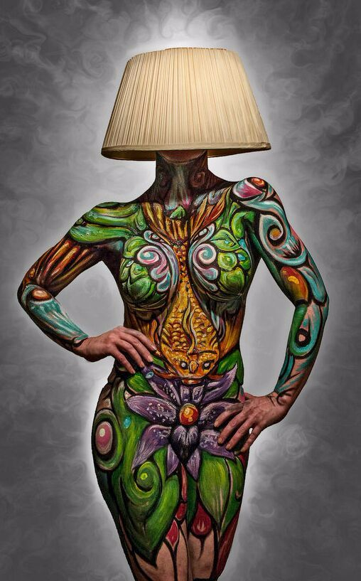 Concept piece for a lamp series considered for development. This piece has been published a few times and featured on the Skin Wars facebook page as well.