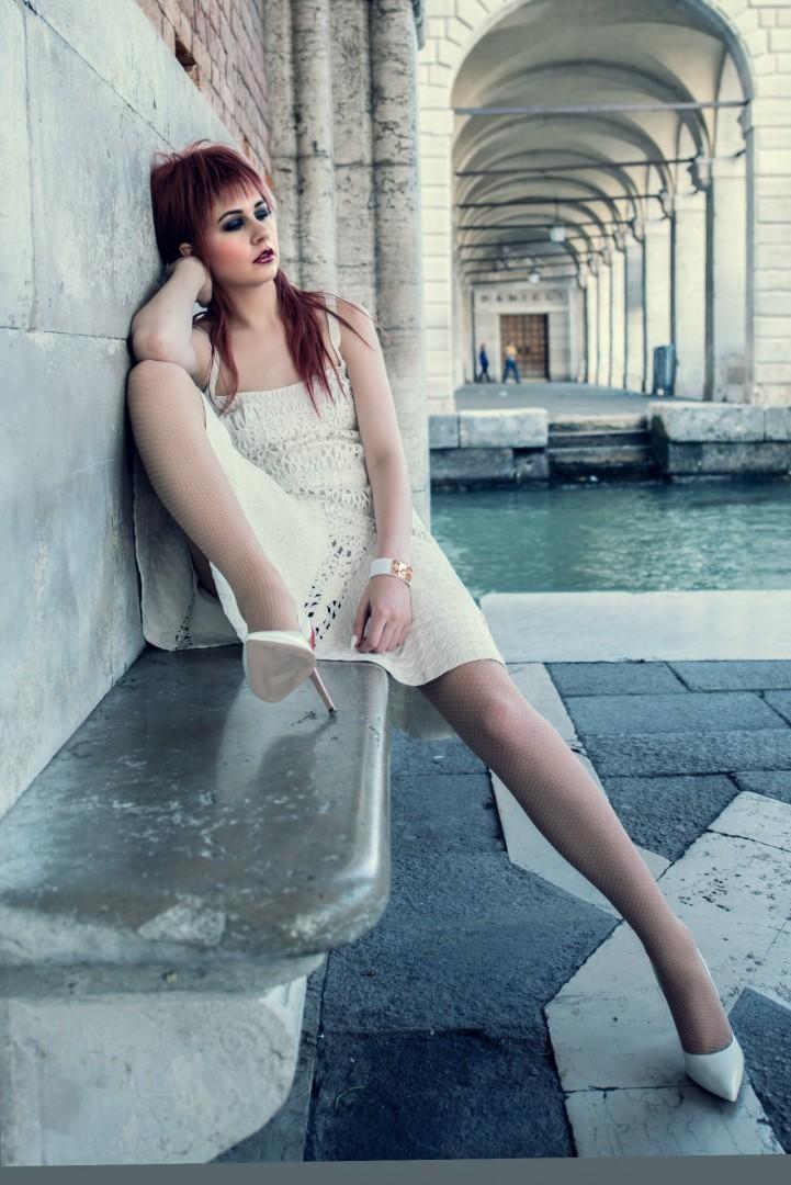 Photographer, stylist & retouch - Conrad Webb<br /> Model - Atalanta<br /> Dress - Ralph Lauren<br /> Shoes - Versace<br /> Hair Stylist - Vimal Chavda<br /> MUA - Gwen Reece<br /> Assistant - Mark Goddard<br /> Location Venice<br /> Shot over 2.5 days in Venice, May 2016