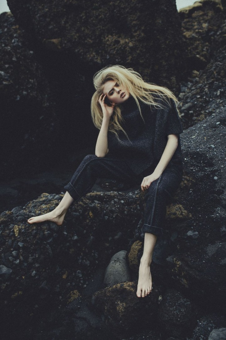 Black sands for Style Noir Magazine<br />