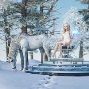 Throne of the Ice Princess