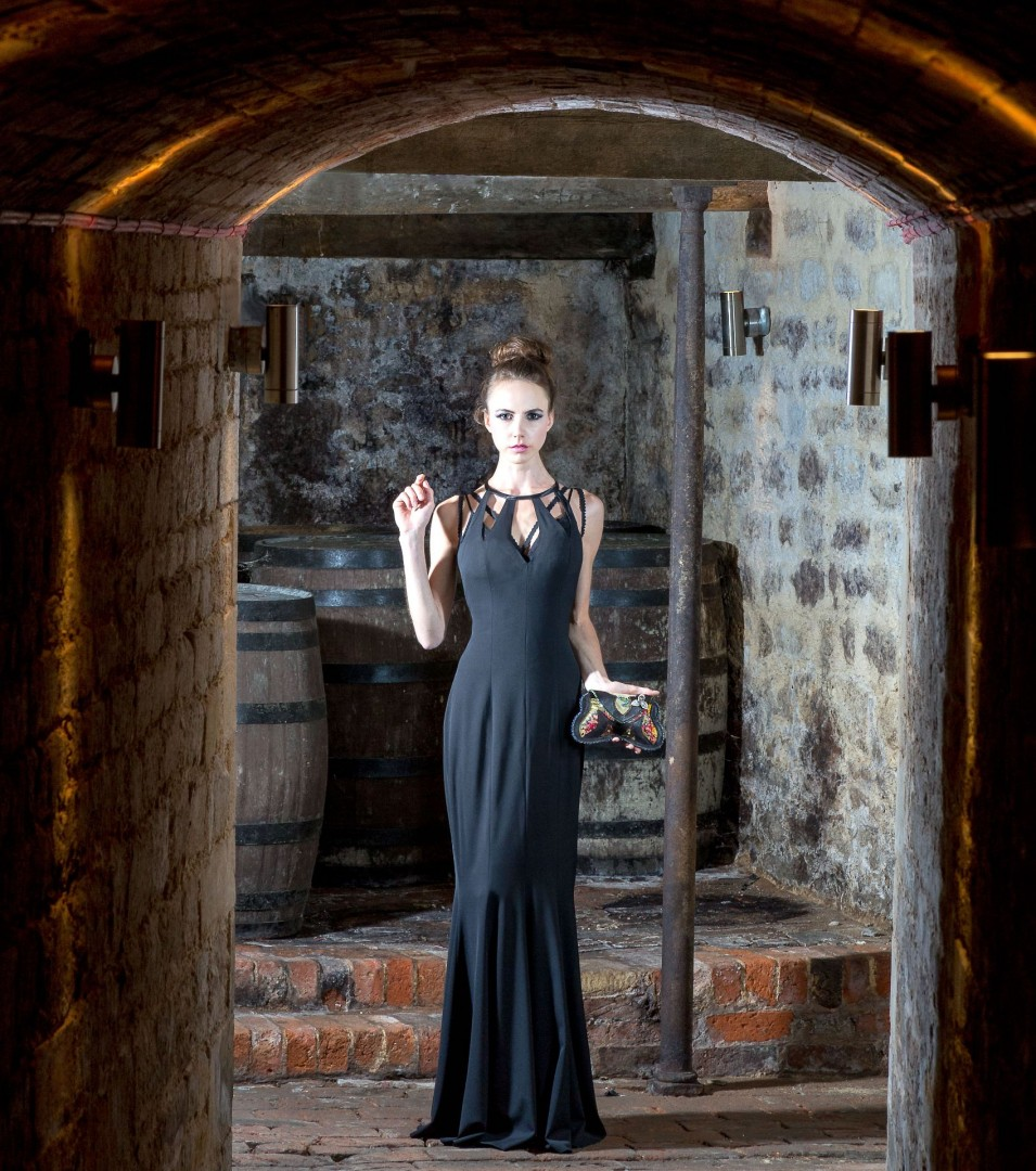Fashion shoot at Pipewell Hall for Silvia Kleist Designer